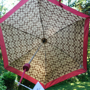Coach Signature Mini Umbrella 🎉Host Pick🎉